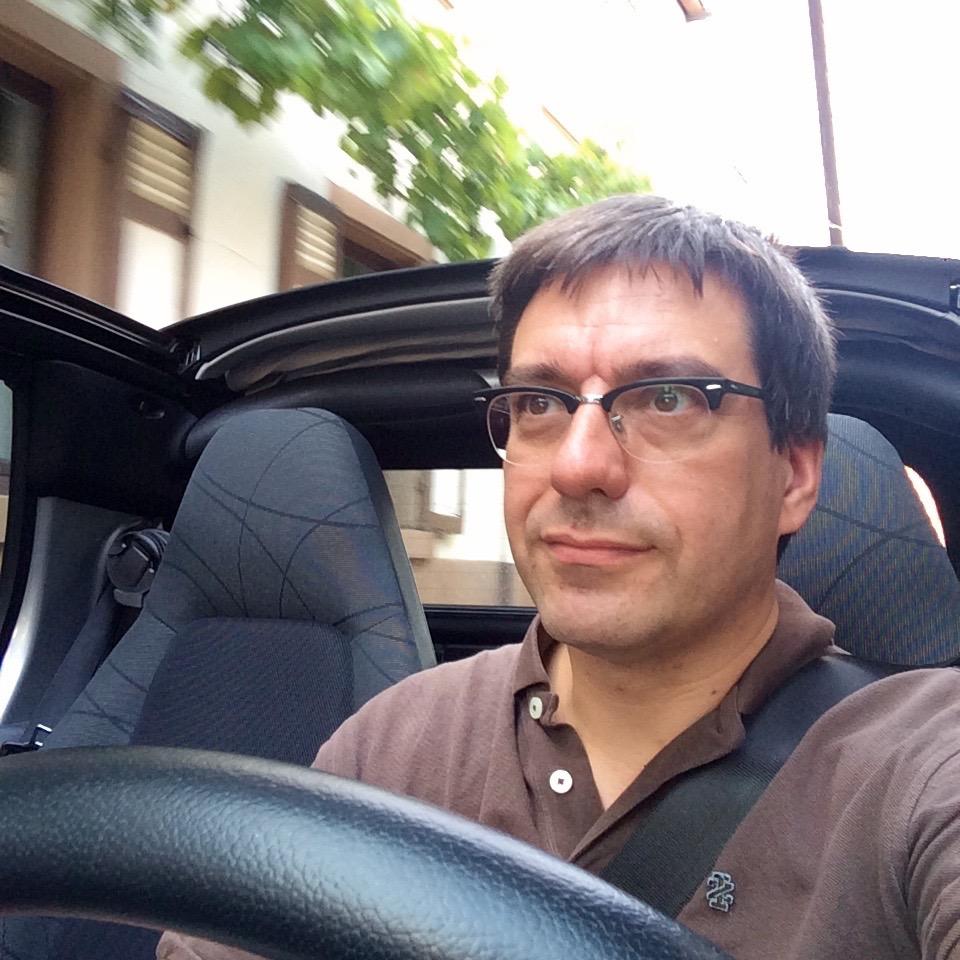 Cabrio-Selfie