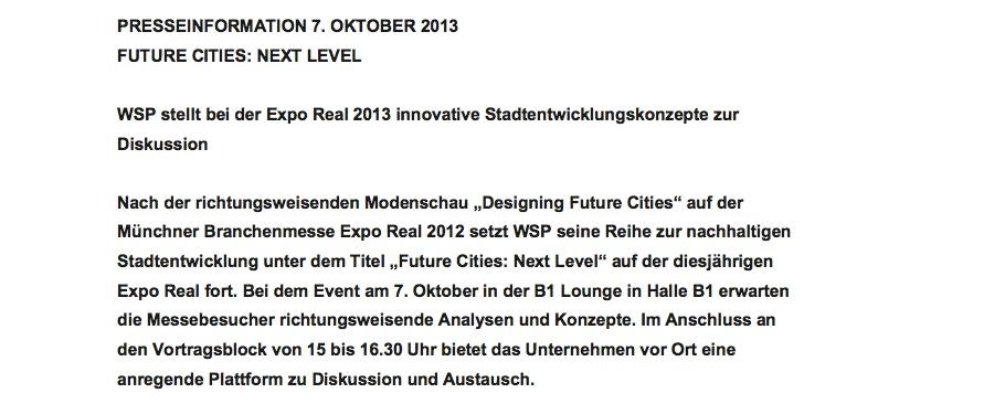 130930_WSP_Pressetext_Future_Cities.pdf__Seite_1_von_2_