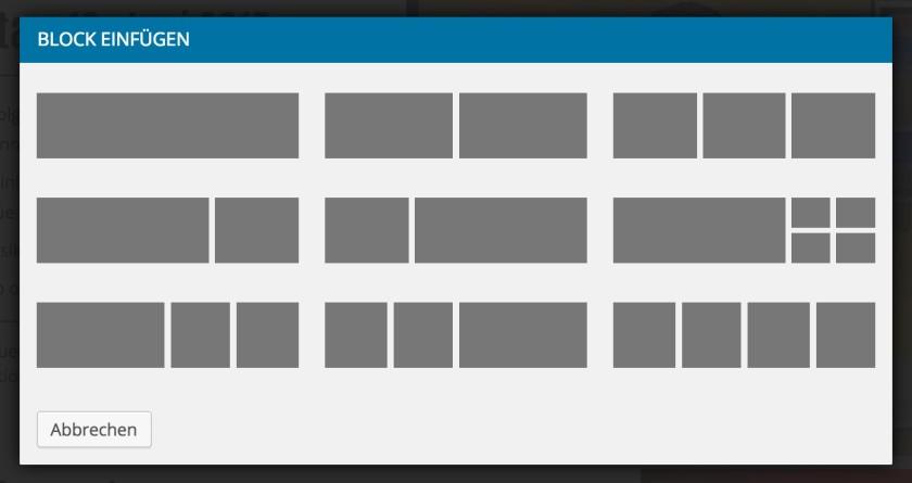 Homepage Editor